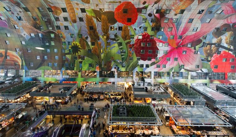 Decopanel aluminium-Markthal Rotterdam