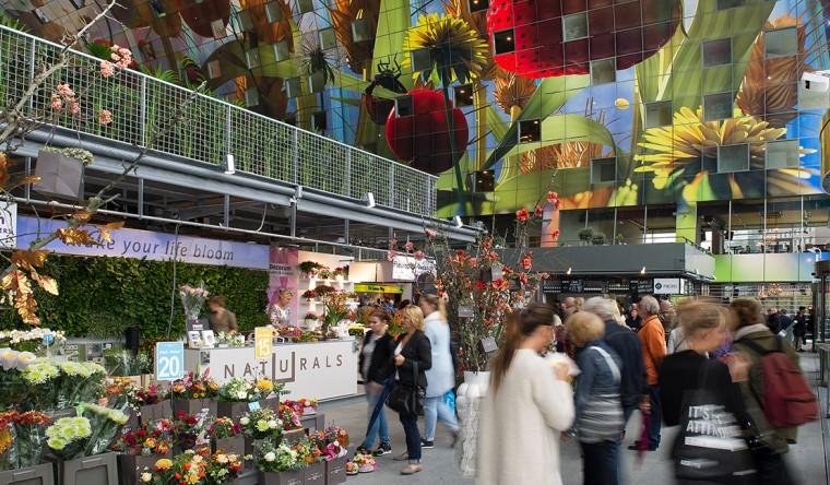 Sublimatie - Gevelpanelen Markthal Rotterdam