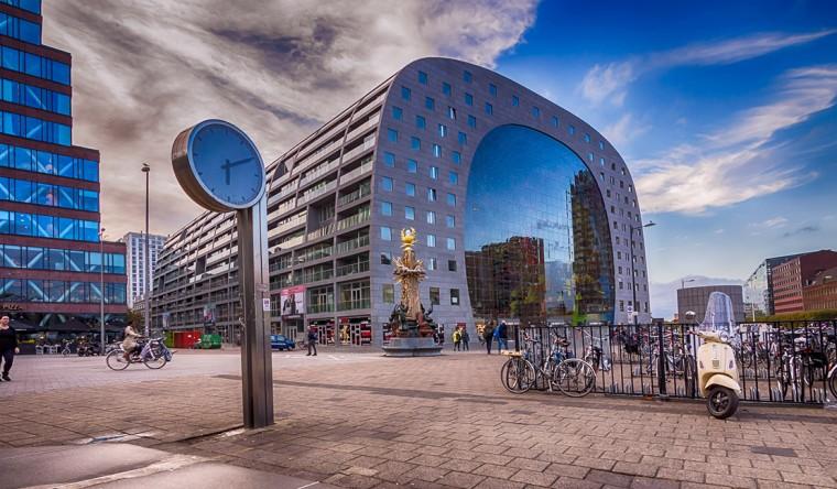 Decopanel aluminium-Gevelpanelen Markthal Rotterdam