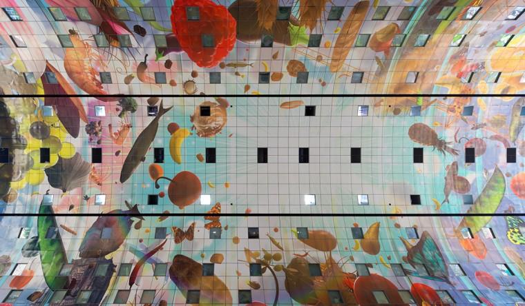 Sublimatie - Gevelpanelen Markthal Rotterdam - TS Visuals