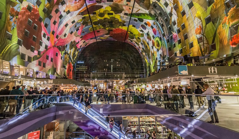 Decopanel aluminium-Markthal Rotterdam - TS Visuals