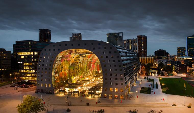 Gevelpanelen Markthal Rotterdam