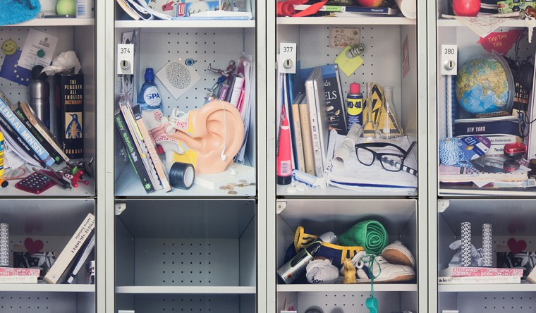 Product - Interieur toepassingen - Lockers |Baarnsch Lyceum