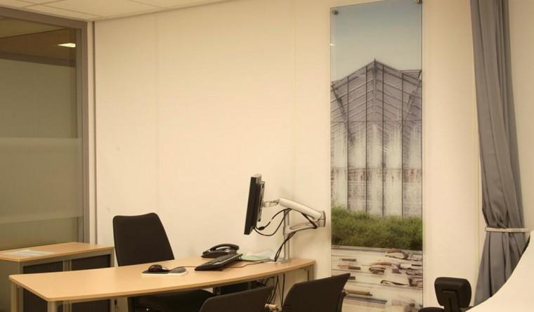 Glasdecoratie MCA (Medisch Centrum Alkmaar)
