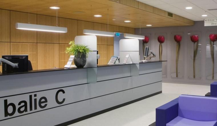 printen op glas - decoratie MCA (Medisch Centrum Alkmaar)