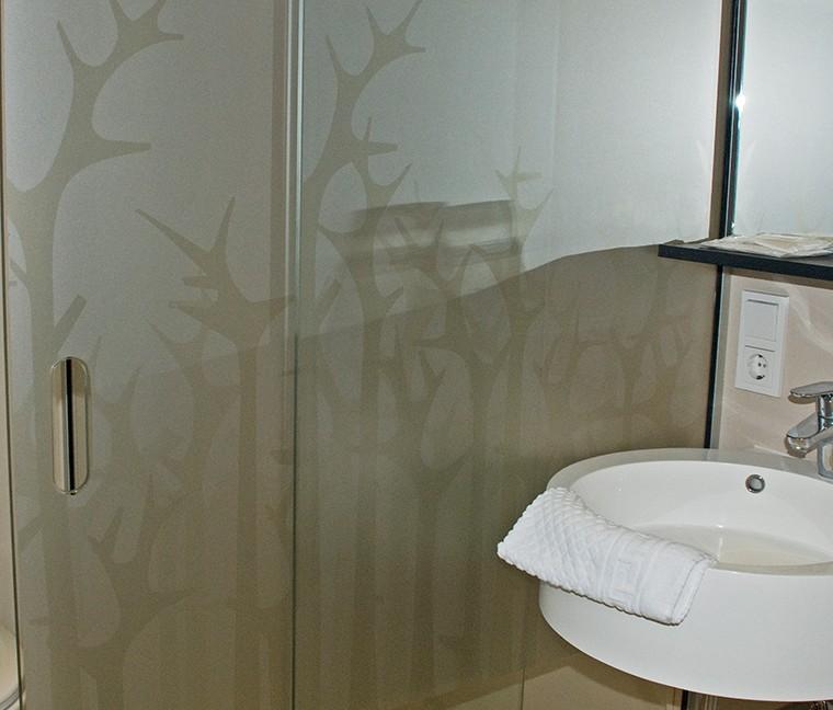 Printen op glas - decoratie Hotel- en Conferentiecentrum Zonheuvel