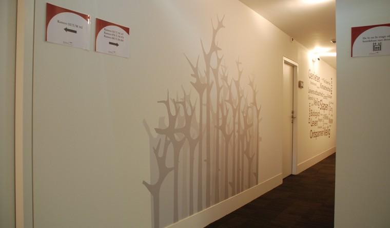 Glasdecoratie Hotel- en Conferentiecentrum Zonheuvel