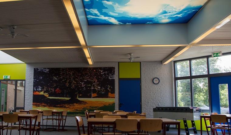 Plafond textielframe - TS Visuals