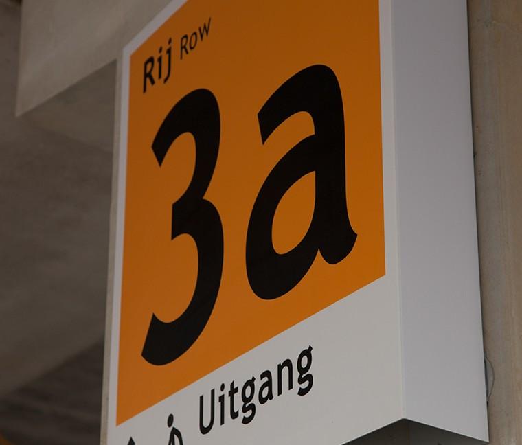 Decopanel aluminium-Wayfinding & Signage - PR de Uithof