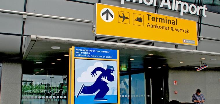 Wayfinding & Signage - Schiphol Airport P1